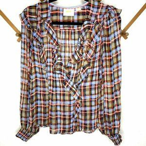 Anthropologie Tops - NWT Anthropologie - Maeve 18W Plus Size Plaid Top